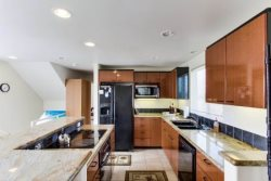 Enormous gourmet kitchen with brand new appliances